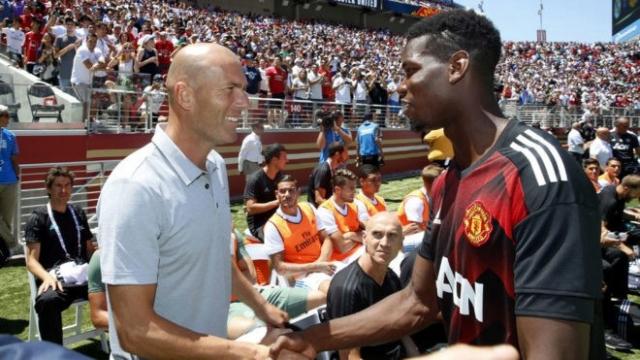 Pogba et Zidane