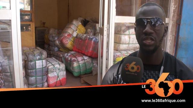 Vidéo. Mali: le froid à Bamako, la bonne affaire des vendeurs de friperie