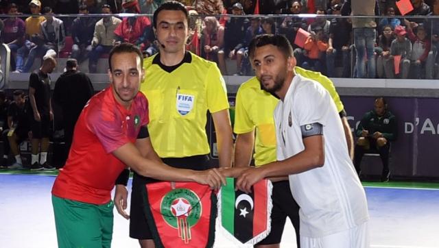 Maroc v Libye futsal 2020
