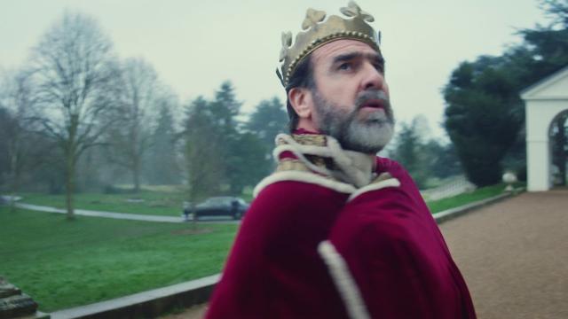 Eric Cantona-clip «Once» de Liam Gallagher