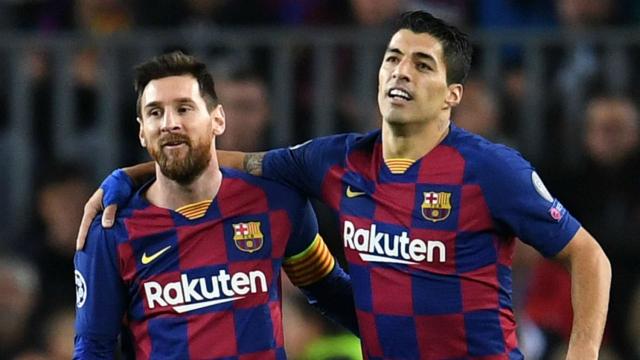 Suarez et Messi