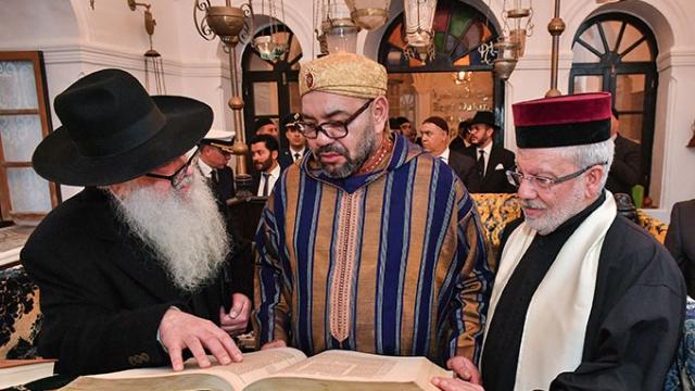 Le Roi Mohammed VI à) Bayt Dakira Essaouira