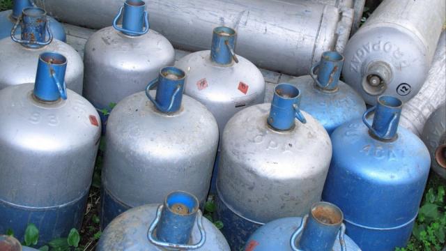 bonbonne de gaz