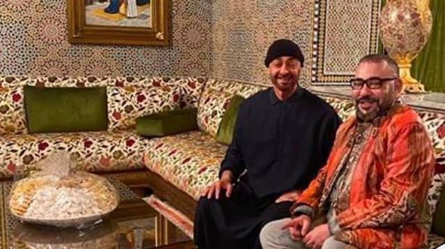 Mohammed VI et MBZ