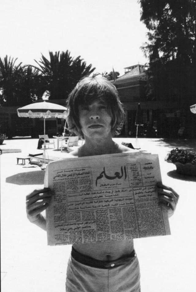 Brian Jones au Maroc