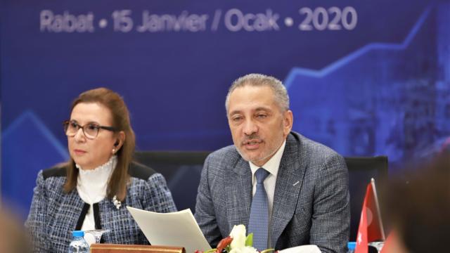 ALE turquie Maroc le ministre de l'Industrie, du commerce et de l'économie verte et numérique, Moulay Hafid Elalamy, et la ministre turque du Commerce, Ruhsar Pekcan