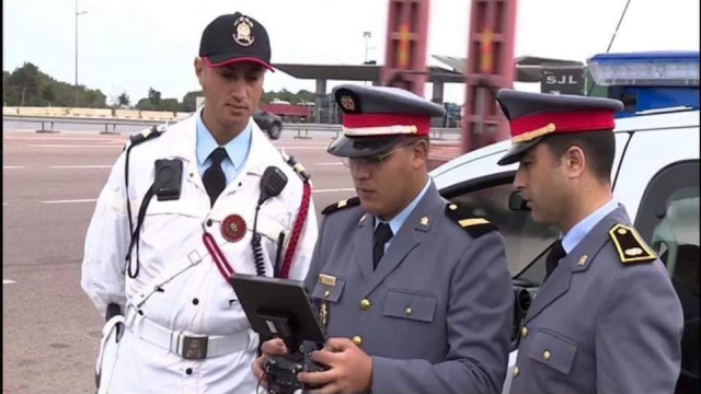 drone gendarmerie royale