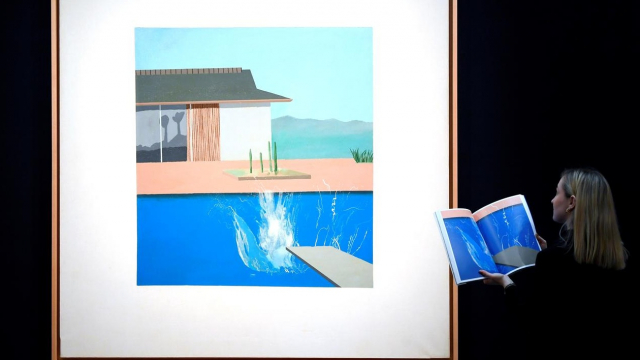 """The Splash"" de David Hockney"