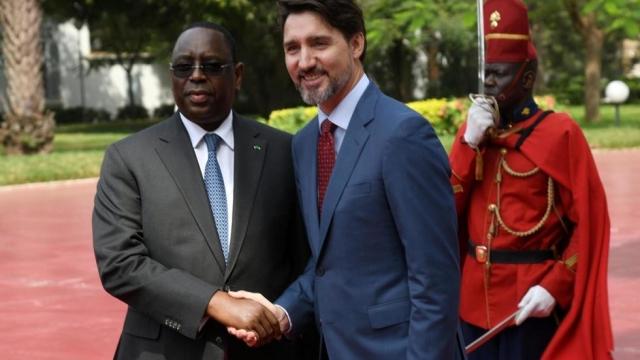 "Sénégal: Macky Sall à Trudeau: ""interdire l'homosexualité n'a rien d'homophobe"""
