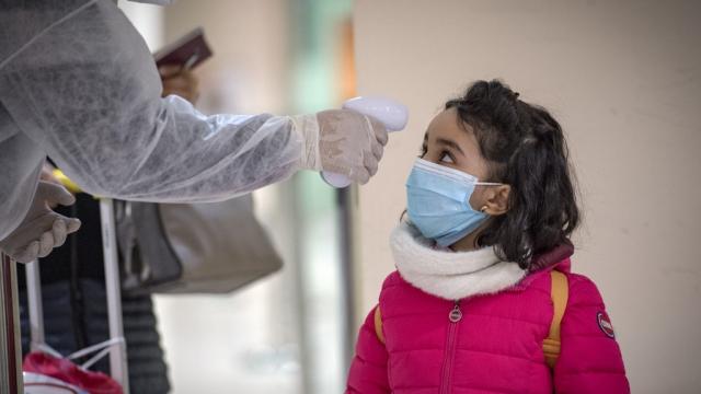 Coronavirus aéroport Mohammed V