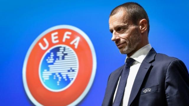 Le président de l'UEFA Aleksander Ceferin