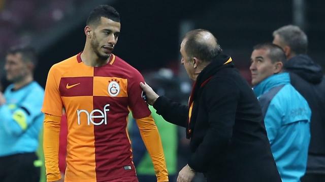 Fatih Terim et Younes Belhanda