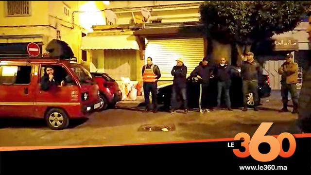 Cover_Vidéo: وعاظ طنجة بالشارع لدعوة الناس عدم التظاهر والخروج من المنازل