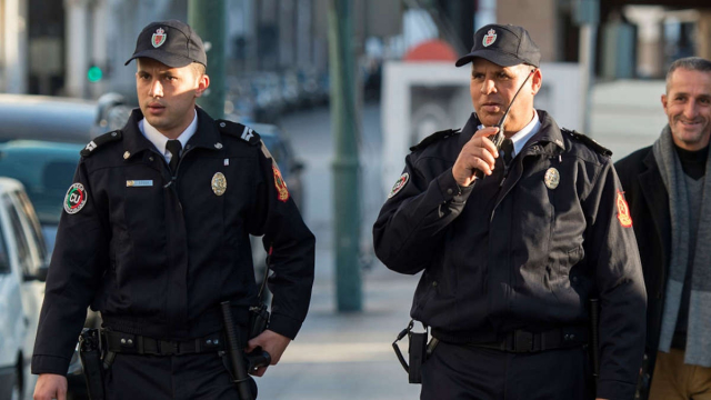 Mesures coronavirus police
