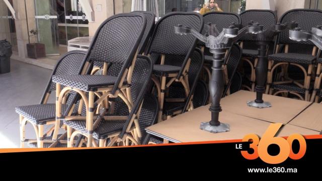 COVER.Vidéo. Coronavirus: à Casablanca, restaurants et cafés baissent le rideau