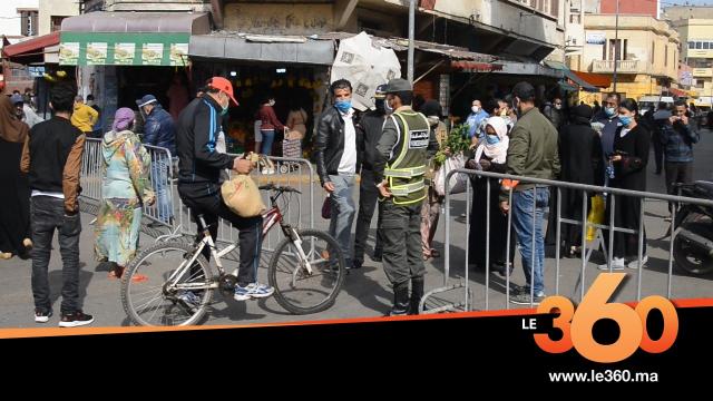 cover vidéo :Le360.ma سوق شعبي يعطي نموذجا في احترام إجراءات الوقاية من كورونا