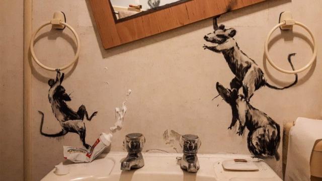 Banksy en confinement