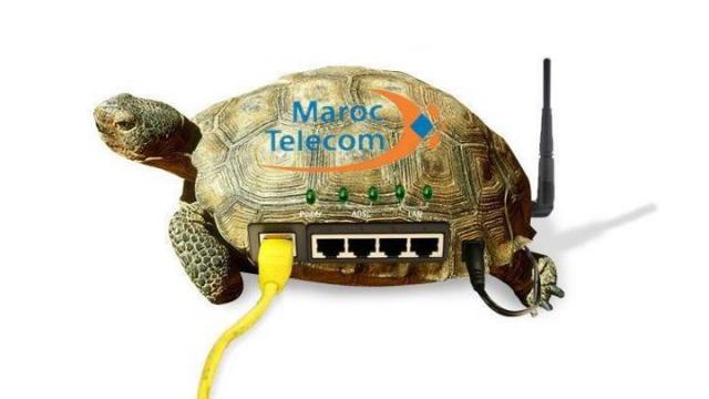 Maroc Telecom connexion lente