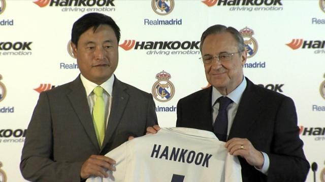 Le Real et son sponsor Hankook