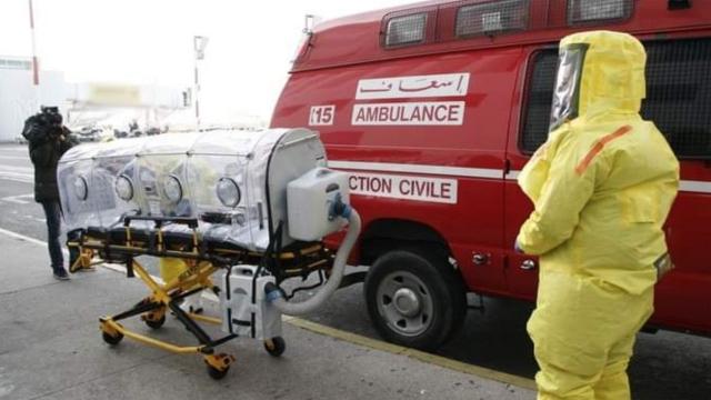 Coronavirus ambulance