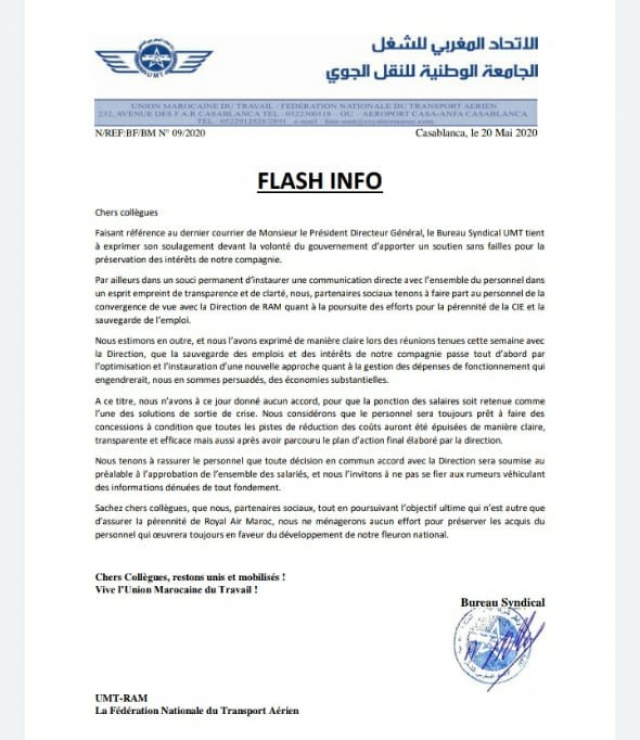 Flash Info RAM