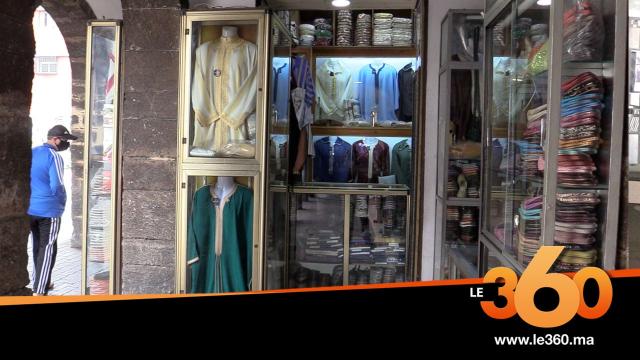 Cover_Vidéo: تجار الملابس التقليدية بالحبوس يعيشون الركود في رمضان بسبب كورونا