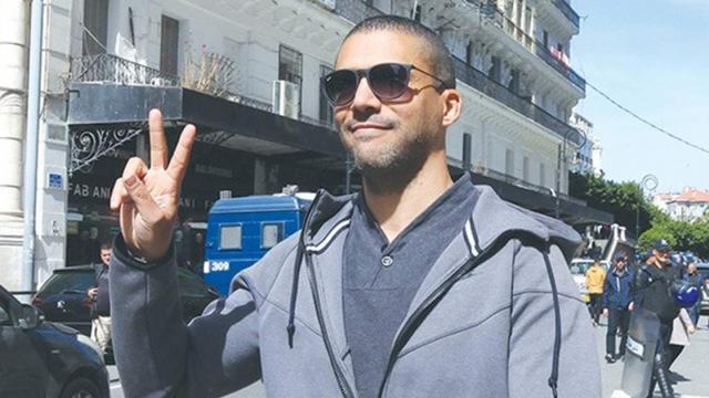 Khaled Drareni, fondateur et directeur du site d'information en ligne Casbah Tribune