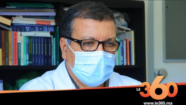 cover: L'évolution du Covid 19 avec le professeur Kamal Marhoum