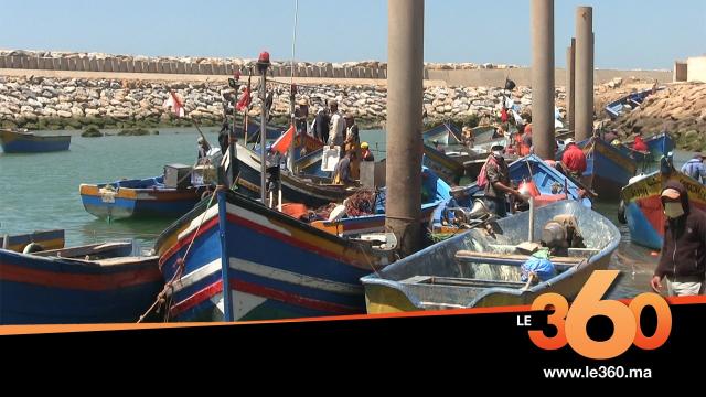 Cover_Vidéo: رغم الحجر ميناء الصيد البحري بسلا يعرف دينامية كبيرة