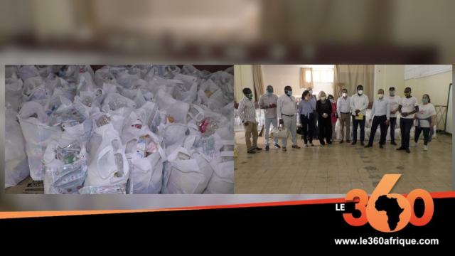 Cover_Vidéo: Maroc  Covid 19, Insaf apporte son soutien aux migrants subsahariens et philippins
