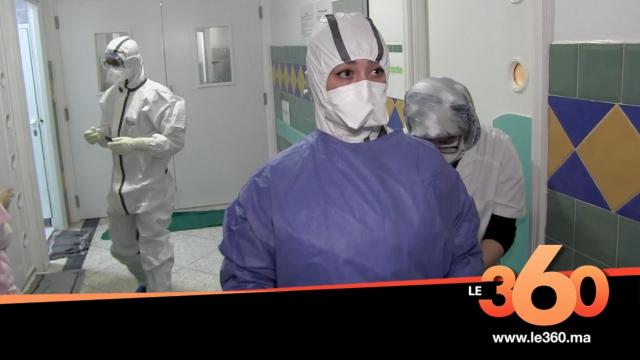 Cover Vidéo -  ممرضة على خط مواجهة كورونا بطنجة تروي تفاصيل روتينها اليومي
