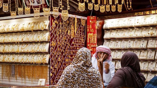 Souk de l'or à Dubaï
