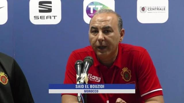 Said El Bouzidi, entraineur marocain de Basket-ball.