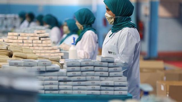 Industrie Masques sanitaires coronavirus