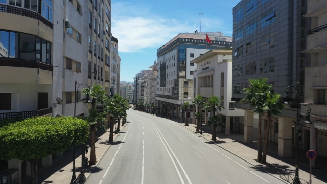Tanger vue du ciel