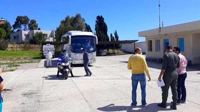 Transfert des cas Covid-19 de Tanger vers Benslimane