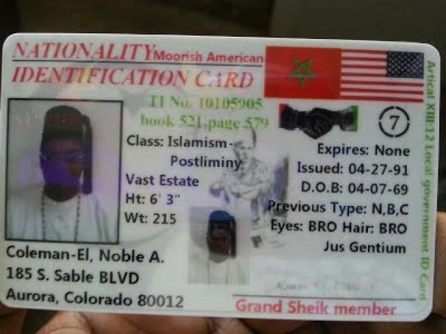 La Carte nationale Moorish
