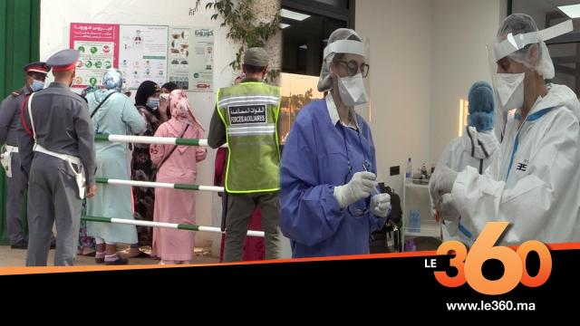 Cover_Vidéo: سلطات مولاي بوسلهام تجري التحاليل المخبرية بمصنع للكشف على كورونا