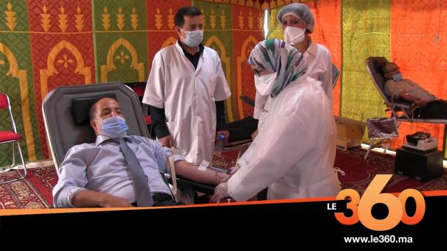 Cover_Vidéo: أسرة العدالة بأكادير تتبرع بالدم في عز أزمة الكورونا
