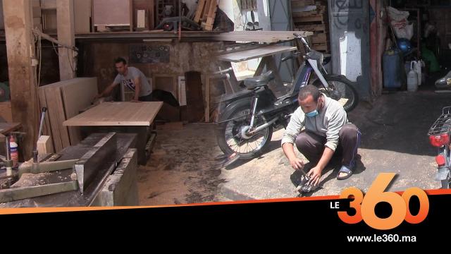 Cover Vidéo - سعادة الحرفيين بعد استئناف تجارتهم