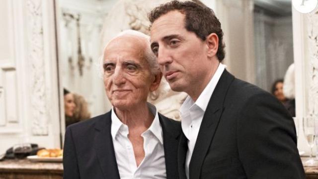 Gad Elmaleh et son papa