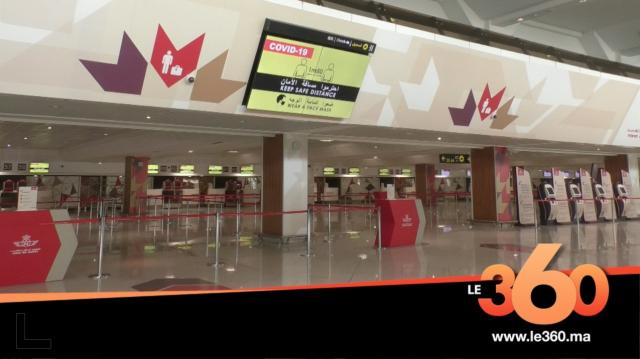 Cover Vidéo - هذه استعدادات مطار محمد الخامس لاستئناف نشاطه