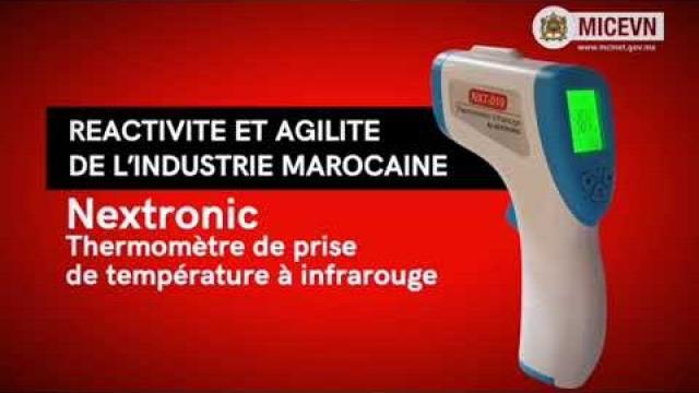 Thermomètre infrarouge Nextronic