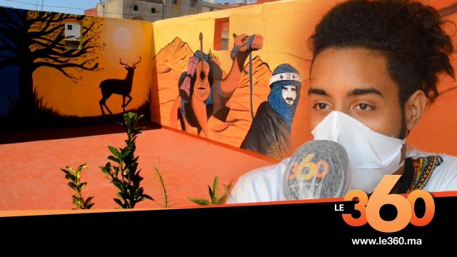 cover vidéo :Le360.ma • في زمن الحجر الصحي..شاب يحول سطح منزله إلى معرض فني مفتوح