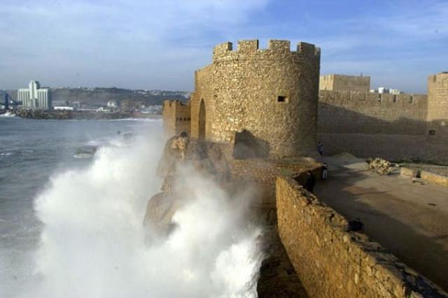 Le château de la mer à Safi.