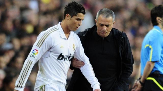 Ronaldo et Mourinho