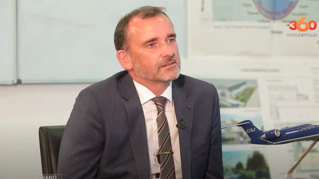 Stephen Orr, par ailleurs vice-président et directeur général de Bombardier Maroc.