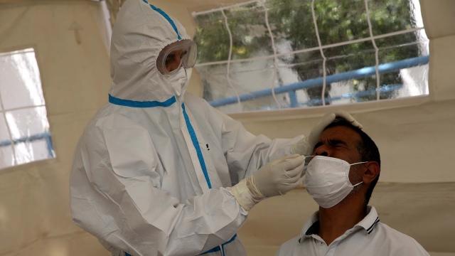 Test anti-coronavirus
