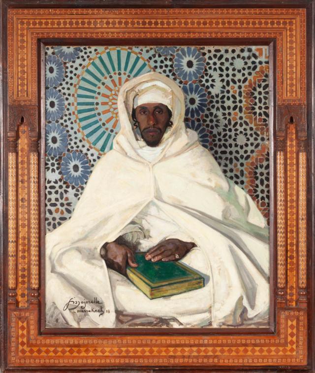 Portrait du Pacha El Glaoui, Marrakech, 1918