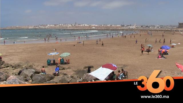 Cover Vidéo - شاطئ الرباط يستقبل المصطافين تحت شروط صارمة